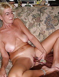 Amazing old businesswoman gets their hole fucked