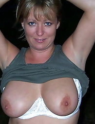 Staggering mature cougars get seminaked